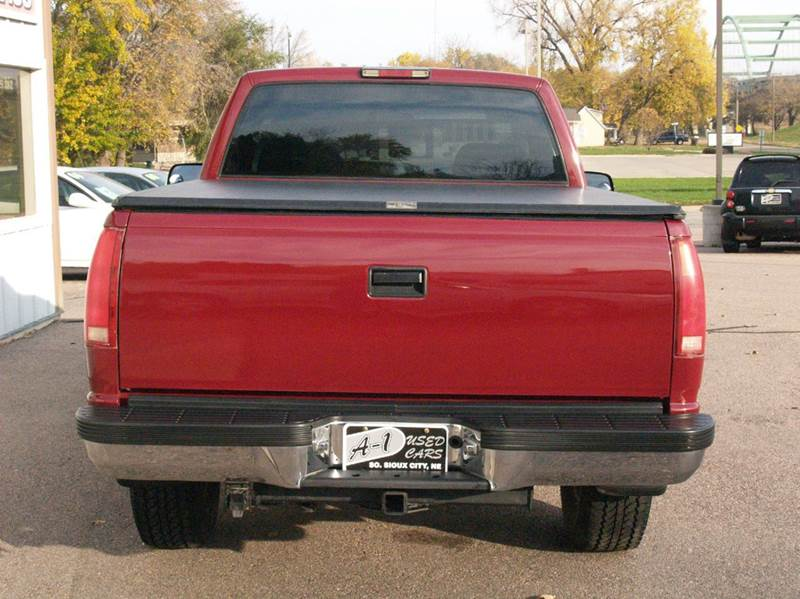 1994 Chevrolet C/K 1500 Series 2dr K1500 Silverado 4WD Standard Cab SB - South Sioux City NE