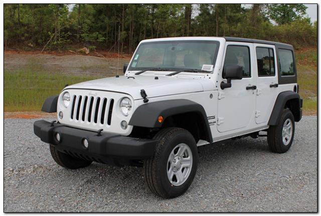 Unlimited sport rhd used jeep wrangler unlimited sport rhd for Jeep wrangler unlimited invoice