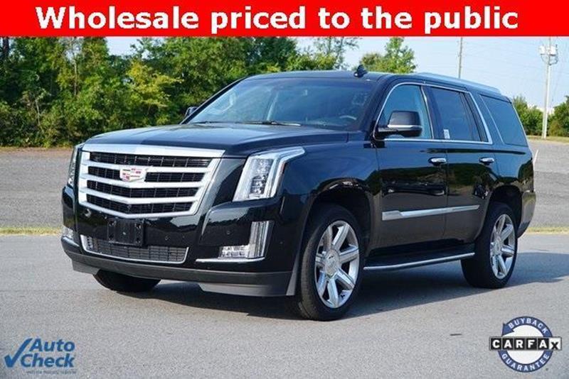 2018 Cadillac Escalade 4x4 Luxury 4dr Suv In Roanoke Rapids Nc