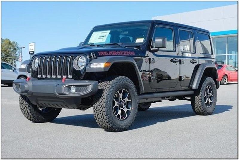 6a035225 2019 Jeep Wrangler Unlimited 4x4 Rubicon 4dr SUV In Roanoke Rapids ...