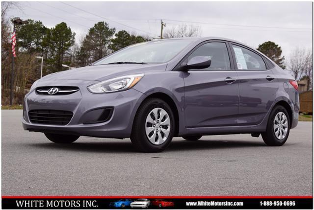 2016 Hyundai Accent Se In Roanoke Rapids Nc White Motors Inc