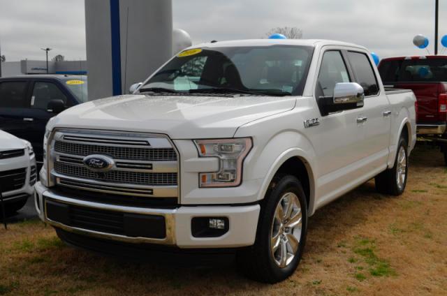 2016 Ford F 150 Platinum In Roanoke Rapids Nc White