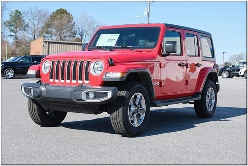 2efac947 2019 Jeep Wrangler Unlimited 4x4 Sahara 4dr SUV In Roanoke Rapids NC ...