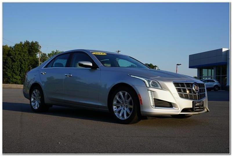 2014 Cadillac Cts 3 6l Luxury Collection 4dr Sedan In
