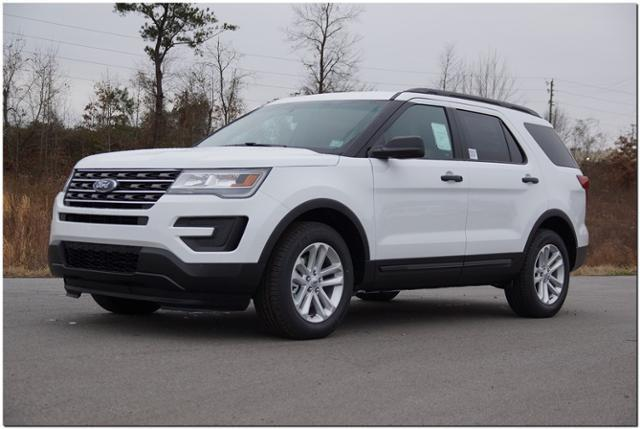 2017 Ford Explorer 4dr Suv In Roanoke Rapids Nc White