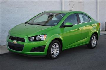 Used Chevrolet Sonic For Sale North Carolina