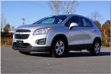Chevrolet Trax For Sale North Carolina