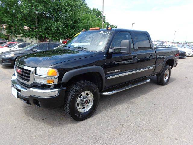 2006 gmc sierra 2500hd slt 4dr crew cab 4wd sb in storm. Black Bedroom Furniture Sets. Home Design Ideas