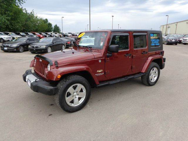 2008 Jeep Wrangler Unlimited Sahara 4x4 4dr Suv In Storm