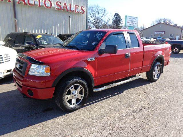 2006 ford f 150 fx4 4dr supercab 4wd styleside 6 5 ft sb in storm lake ia de anda auto sales. Black Bedroom Furniture Sets. Home Design Ideas
