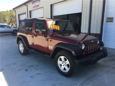 2007 Jeep Wrangler Unlimited for sale in Oneida, TN