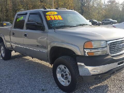 2001 GMC Sierra 2500HD for sale in Oneida, TN