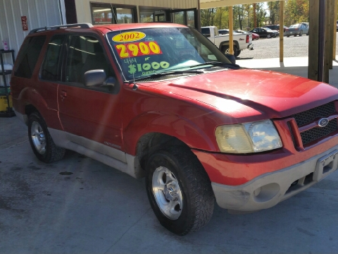 2002 Ford Explorer Sport for sale in Oneida, TN