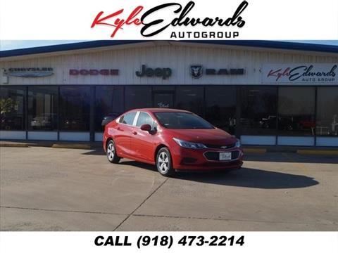2017 Chevrolet Cruze for sale in Checotah, OK