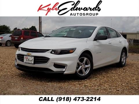 2017 Chevrolet Malibu for sale in Checotah, OK