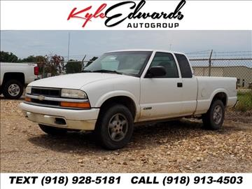 2000 Chevrolet S-10 for sale in Checotah, OK