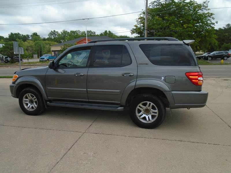 2003 toyota sequoia limited 4wd 4dr suv in sioux city ia riverside auto sales. Black Bedroom Furniture Sets. Home Design Ideas