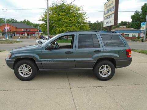 used 2002 jeep grand cherokee for sale in iowa. Black Bedroom Furniture Sets. Home Design Ideas