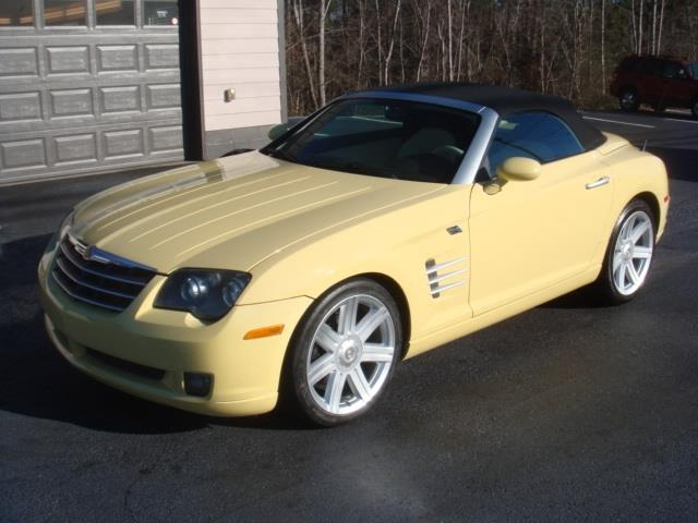used 2005 chrysler crossfire limited in atlanta ga at sawnee mountain motors. Black Bedroom Furniture Sets. Home Design Ideas