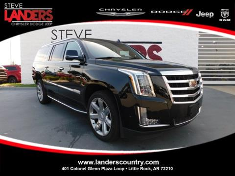 2018 Cadillac Escalade ESV for sale in Little Rock, AR