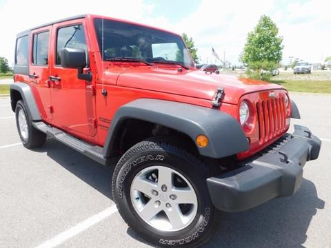 2014 Jeep Wrangler Unlimited for sale in Little Rock, AR