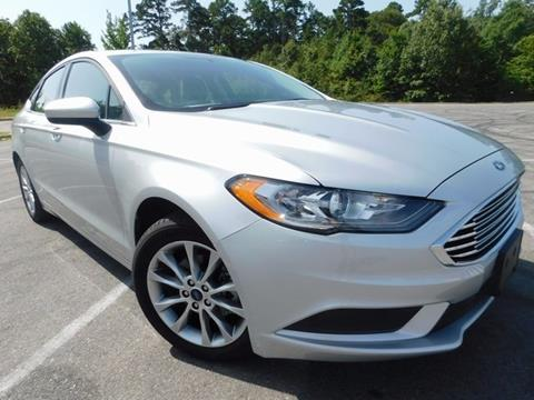 2017 Ford Fusion for sale in Little Rock, AR