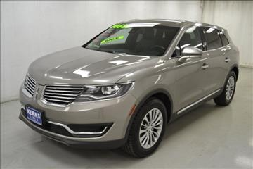 2016 Lincoln MKX for sale in Celina, OH