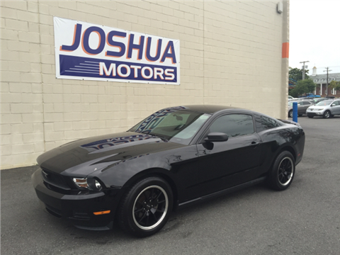 2010 ford mustang for sale new jersey for Joshua motors vineland nj