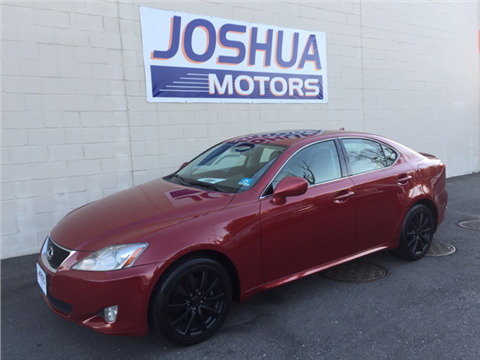 2008 lexus is 250 for sale for Joshua motors vineland nj