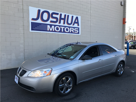 Used pontiac g6 for sale new jersey for Joshua motors vineland nj