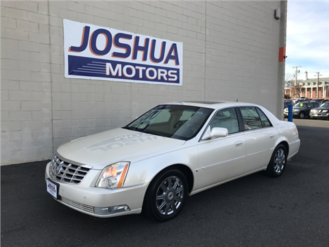 Cadillac dts for sale new jersey for Joshua motors vineland nj