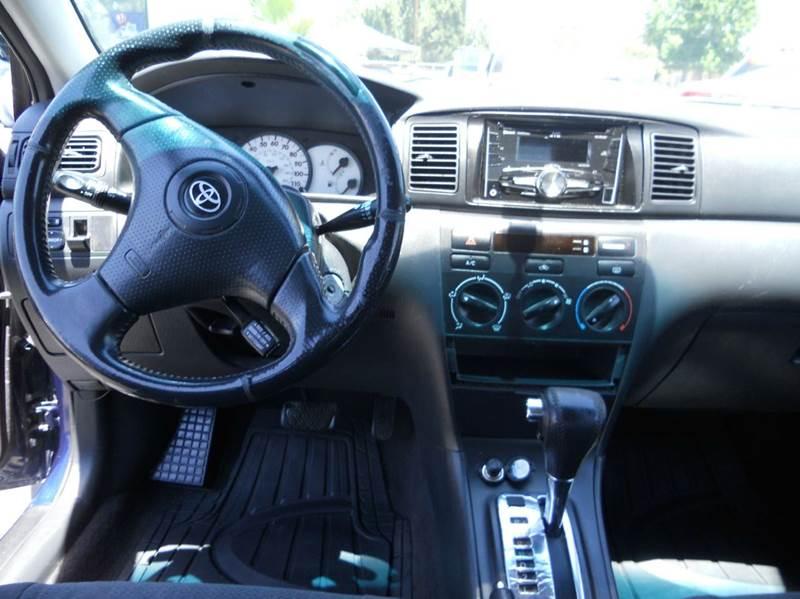 2003 Toyota Corolla S 4dr Sedan - Redlands CA