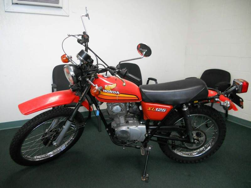 1978 Honda XL125  - Redlands CA