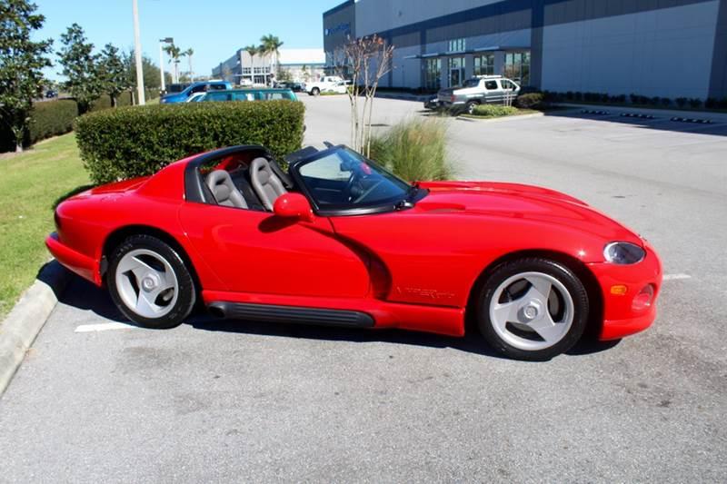 1994 Dodge Viper RT/10 2dr Convertible - Sarasota FL