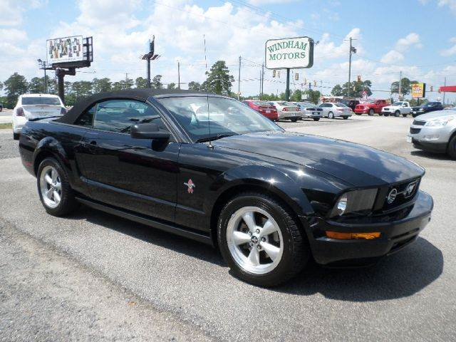 Windham Motors Florence >> 2008 Ford Mustang V6 Premium Convertible In Florence SC - Windham Motors