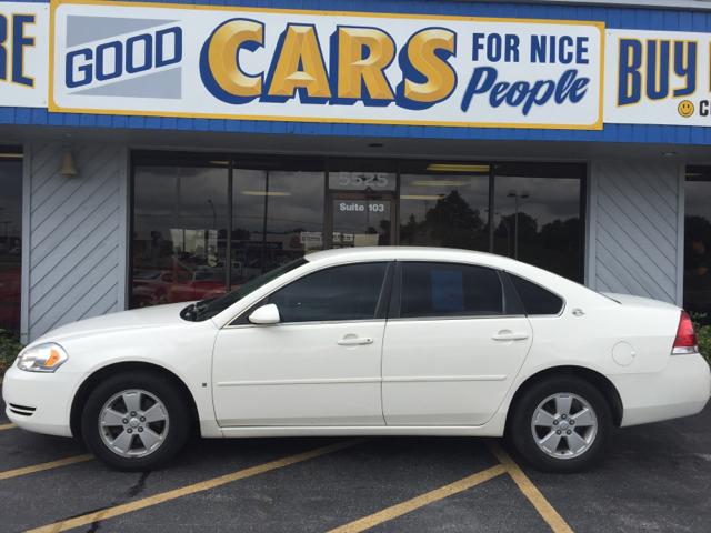 2008 chevrolet impala lt 4dr sedan in omaha ne good cars 4 nice people. Black Bedroom Furniture Sets. Home Design Ideas