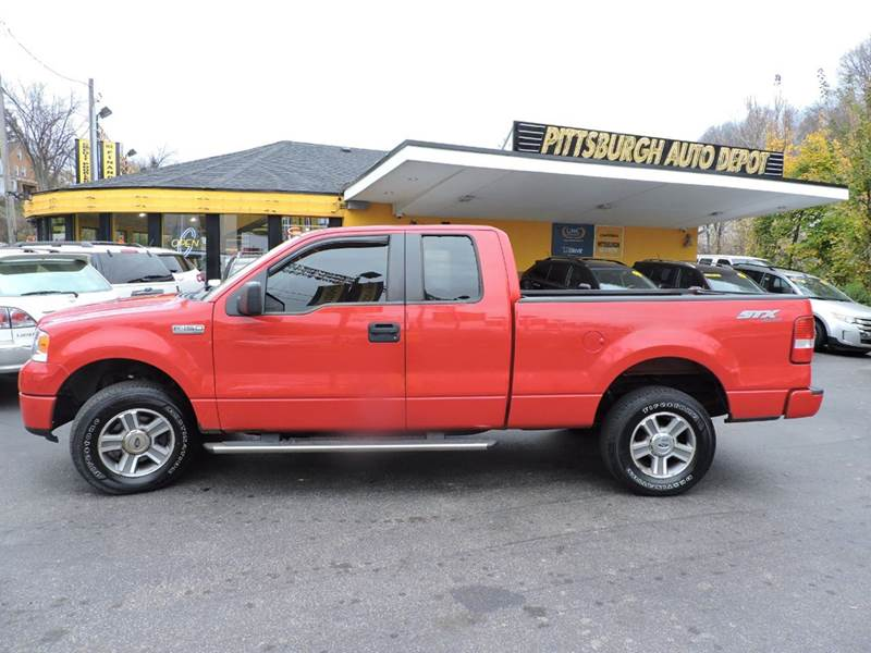 2008 ford f 150 stx 4x4 4dr supercab styleside 5 5 ft sb in pittsburgh pa pittsburgh auto depot. Black Bedroom Furniture Sets. Home Design Ideas