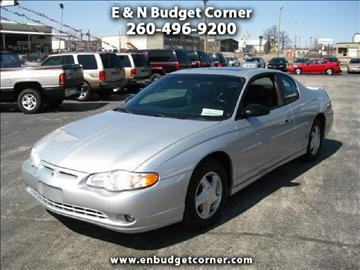 2000 Chevrolet Monte Carlo for sale in Fort Wayne, IN