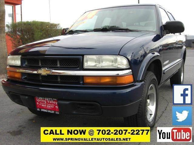 Used Cars in Las Vegas 2004 Chevrolet Blazer