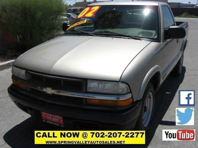 Used Cars in Las Vegas 2002 Chevrolet S-10