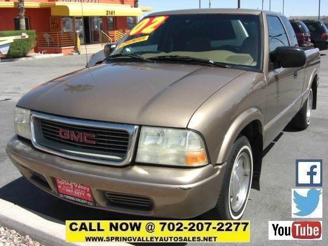Used Cars in Las Vegas 2002 GMC Sonoma
