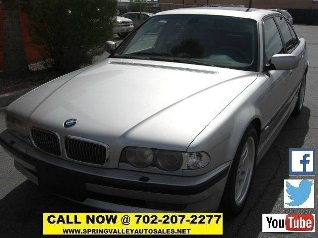 Used Cars in Las Vegas 2001 BMW 7 Series