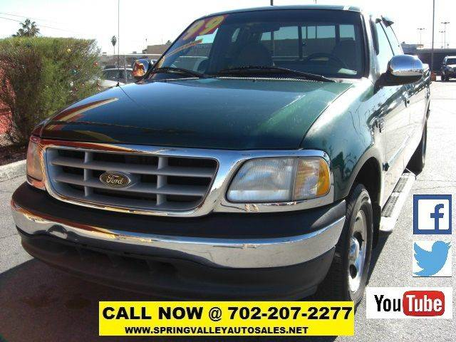 Used Cars in Las Vegas 1999 Ford F-150