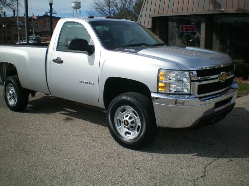 2014 Chevrolet Silverado 2500HD 4x4 Work Truck 2dr Regular Cab LB - Plainwell MI