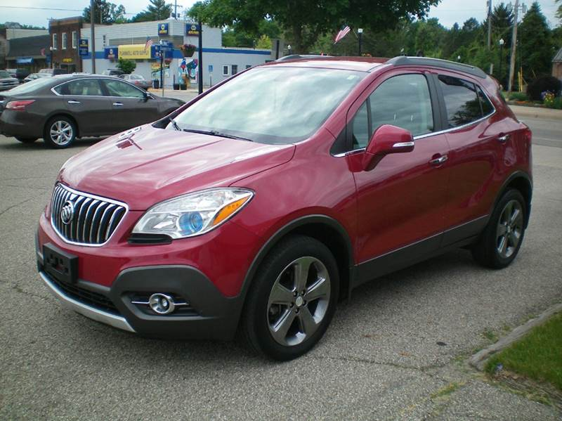 2014 Buick Encore AWD Leather 4dr Crossover - Plainwell MI
