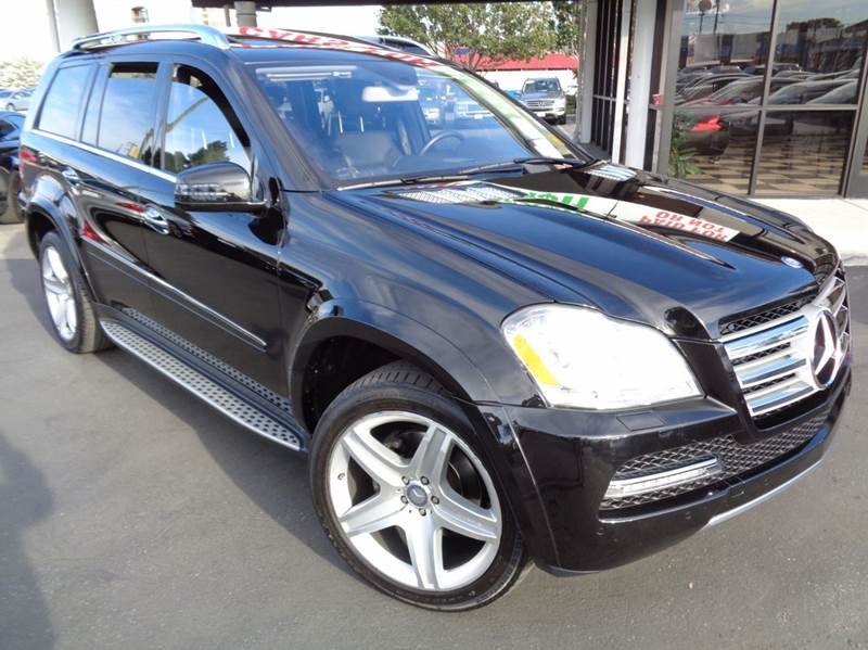 2011 MERCEDES-BENZ GL-CLASS GL550 4MATIC AWD 4DR SUV black clean carfax rare find gl5504