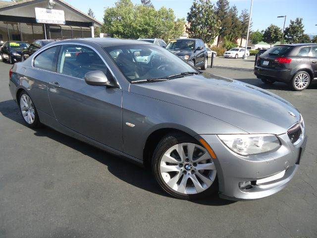 2012 BMW 3 SERIES 328I 2DR COUPE SULEV gray 1 owner comes with factory warrantynavigation