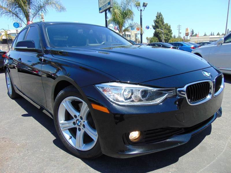 2014 BMW 3 SERIES 328D 4DR SEDAN black one ownerclean carfax reportcalifornia vehicle