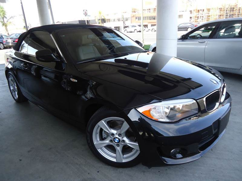 2012 BMW 1 SERIES 128I 2DR CONVERTIBLE SULEV black 2-stage unlocking abs - 4-wheel air filtrati