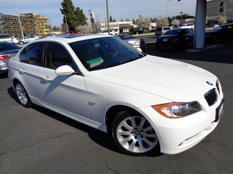 2008 BMW 3 SERIES 335I 4DR SEDAN SA white clean carfax excellent color combination navigati